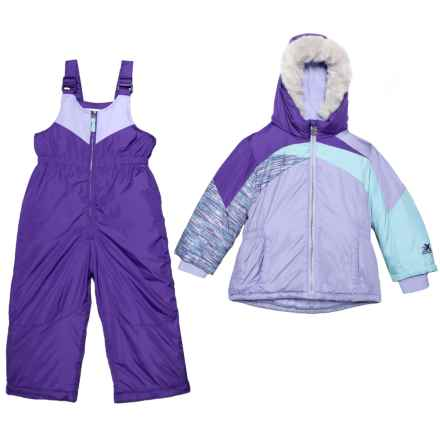 ZeroXposur Kasha Two-Piece Snowsuit Set - Insulated (For Toddler Girls) in Violet Mist/Lilac - Closeouts