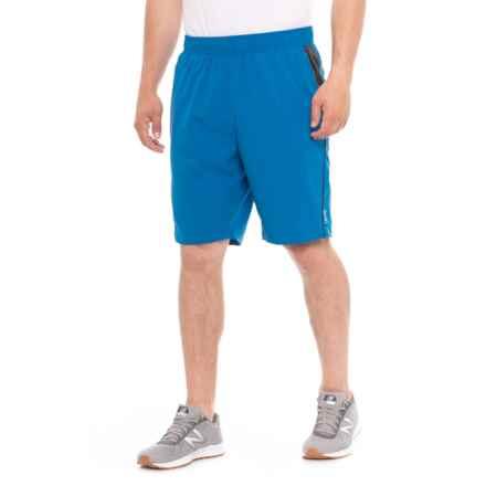 cd0cd91315 ZeroXposur Lake Blue Fusion Gym to Swim Stretch Shorts - UPF 50+, Built-
