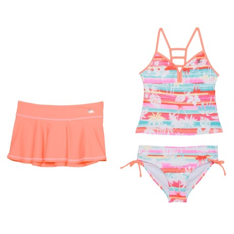 7d762ae8c867d ZeroXposur Magic Mirage Tankini Set and Cover-Up Skirt - Racerback (For Big  Girls
