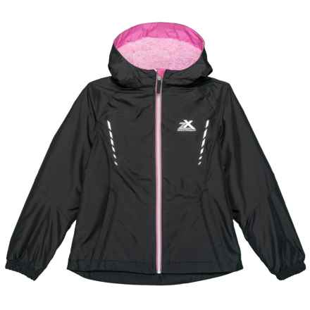 ZeroXposur Marion Windbreaker Jacket - Insulated (For Big Girls) in Black - Closeouts