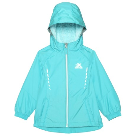 9afc44d04fab ZeroXposur Marion Windbreaker Jacket (For Little Girls) - Save 80%