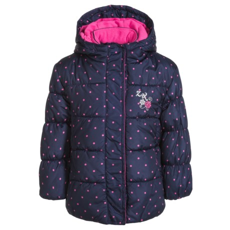 ZeroXposur Printed Parka - Insulated (For Little Girls) in Navy