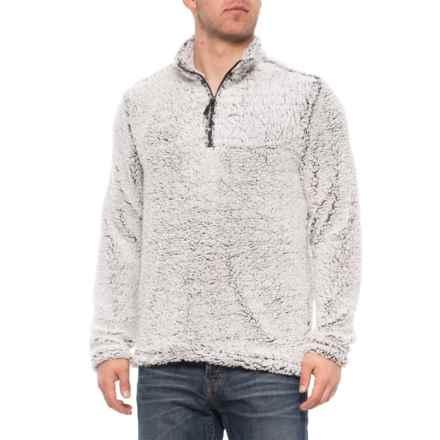ZeroXposur Snow Top Berber Fleece Sweater - Zip Neck (For Men) in Slate - Closeouts