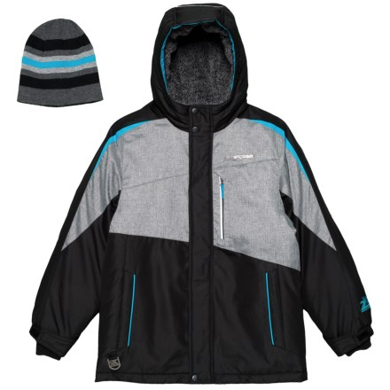 bffab06ee ZeroXposur Stark Snowboard Jacket - Insulated (For Big Boys) in Black -  Closeouts