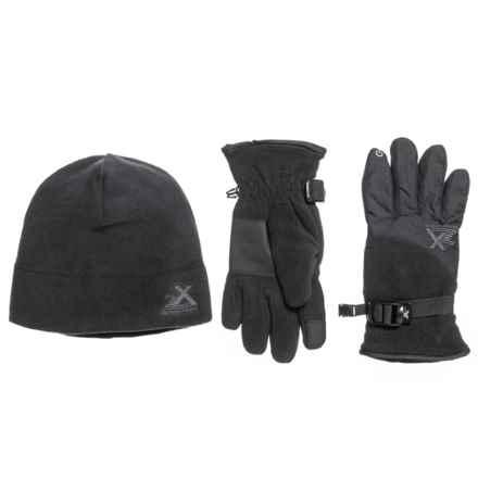 ZeroXposur Steel Knit Winter Set - 2-Piece (For Big Boys) in Black - Closeouts