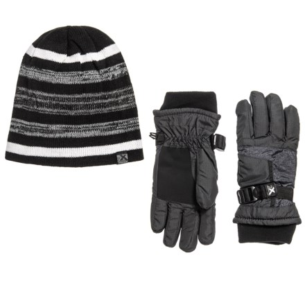 8cc959aec ZeroXposur Steel Knit Winter Set - Insulated ( For Big Boys) in Slate/Black