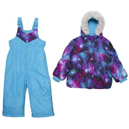 ZeroXposur Stella Jacket and Snow Bibs Set - Insulated, 2-Piece (For Toddler Girls) in Multi - Closeouts