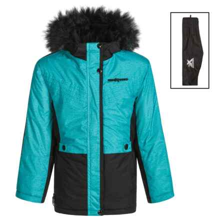 ZeroXposur Vanessa Ski Parka - Insulated (For Big Girls) in Teal - Closeouts