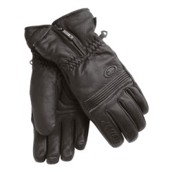 Ziener Gallery PrimaLoft® Gloves - Leather, Insulated (For Men) in Black