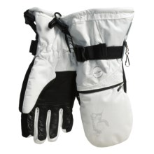 Ziener Kitama Duo Component System Gloves - Waterproof, PrimaLoft® (For Women) in White - Closeouts