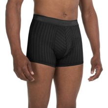 Zimmerli Mercerized Cotton Boxer Briefs (For Men) in Black - Closeouts