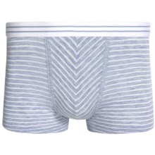 Zimmerli of Switzerland Modal Blend Boxer Briefs (For Men) in Blue Ice - Closeouts