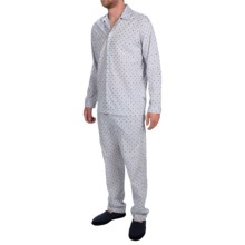 Zimmerli of Switzerland Polka-Dot Pajamas - Long Sleeve (For Men) in 320 Multicolor - Closeouts