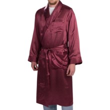 Zimmerli Paisley Wrap Robe - Silk, Long Sleeve (For Men) in Paisley - Closeouts