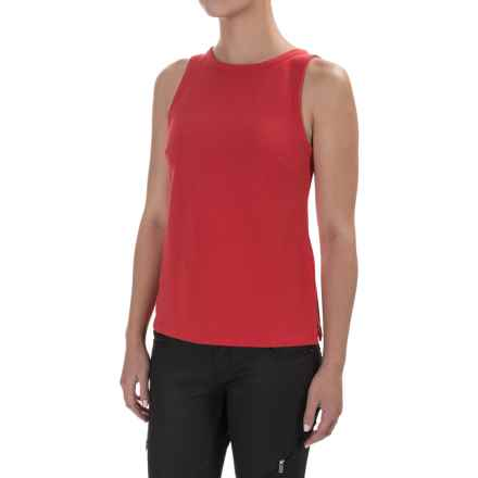 Zip Back Tank Top (For Women) in Red - 2nds