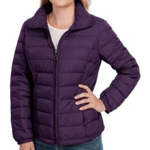 Zip-Front Packable Down Jacket - Insulated (For Women) in Purple - 2nds