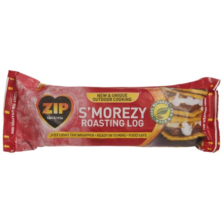 Zip S'morezy Roasting Log in See Photo