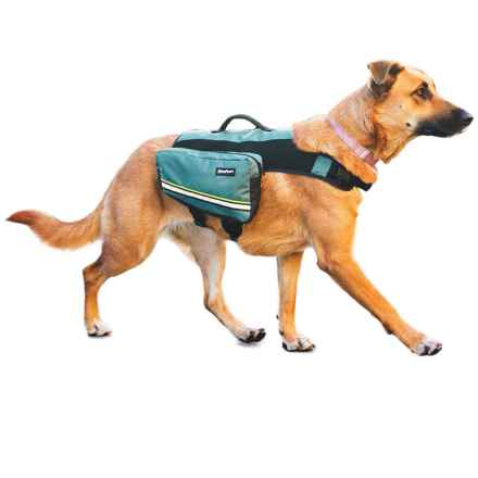 ZippyPaws Adventure Backpack Dog Pack in Forest Green - Closeouts
