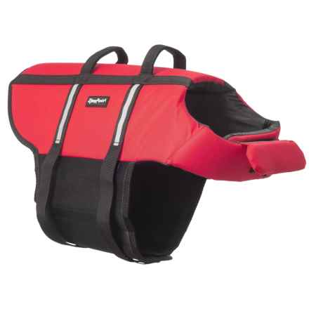 ZippyPaws Dog Life Jacket - Extra Large in Red - Closeouts