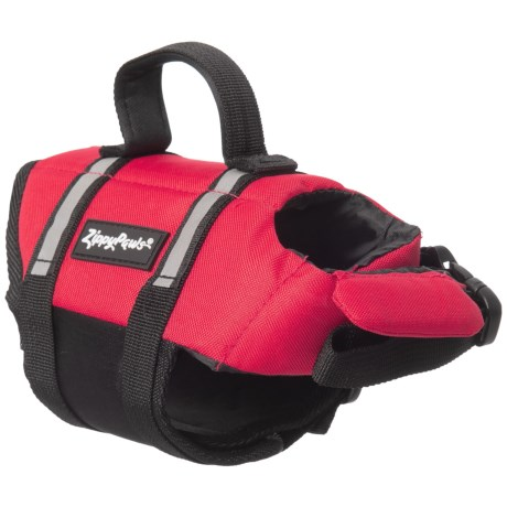 ZippyPaws Dog Life Jacket - Extra Small in Red
