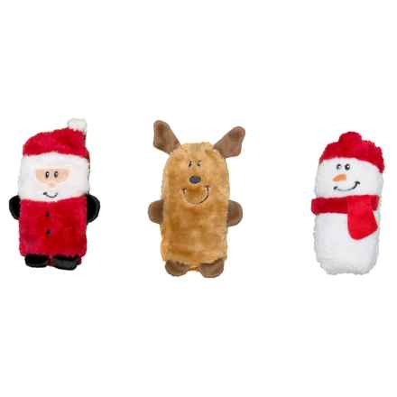 ZippyPaws Holiday Squeakie Buddies Dog Toy - 3-Pack in Holiday - Closeouts
