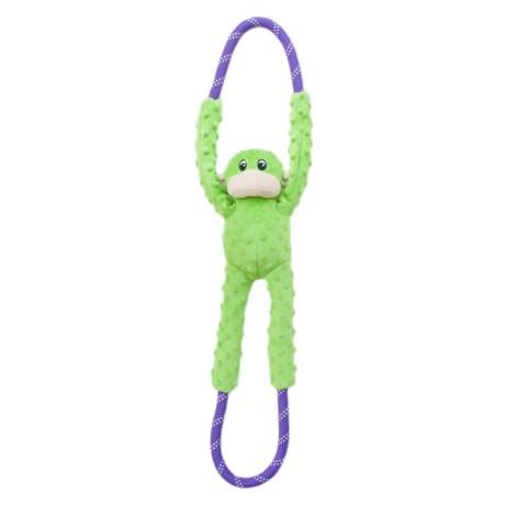 ZippyPaws Monkey Ropetugz Squeaker Dog Toy