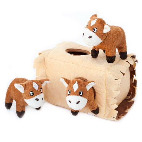 ZippyPaws Zippy Burrow Interactive Dog Toy - Squeaker in See Photo