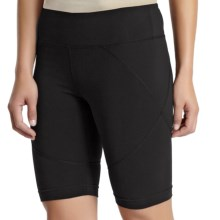 Zobha 360 Shorts - Supplex® Nylon (For Women) in Black/Black - Closeouts