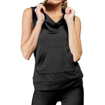 Zobha Dakota Hoodie - Sleeveless (For Women) in Black - Closeouts