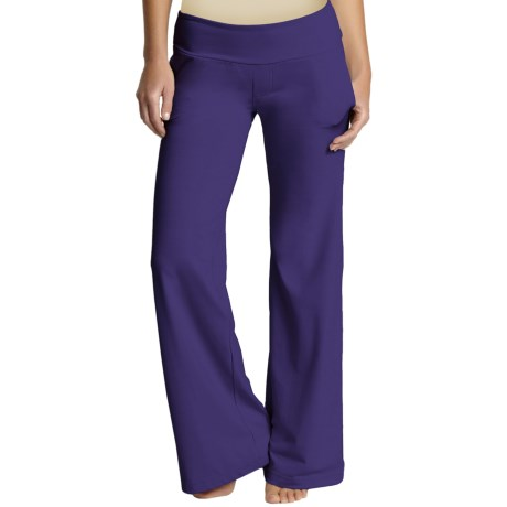 Zobha High-Performance Trouser Pants - Supplex® Nylon (For Women) in Perfect Purple