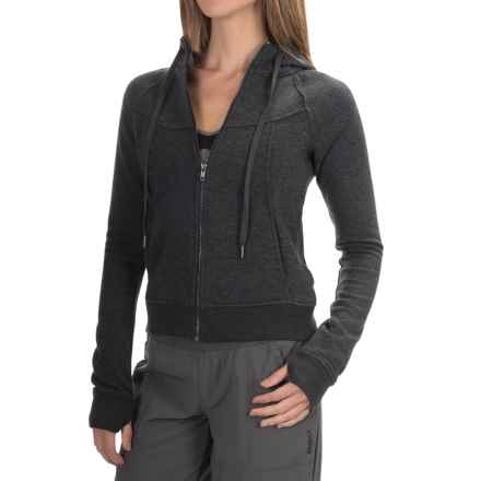 Zobha Murphy Fleece Hoodie - Full Zip (For Women) in Phantom Heather - Closeouts