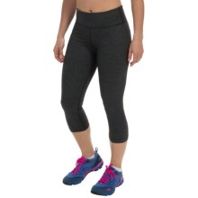 Zobha Straight-Leg Capri Leggings - Low Rise (For Women) in Phantom Heather - Closeouts