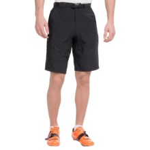 Zoic Black Market Cycling Shorts (For Men) in Black - Closeouts