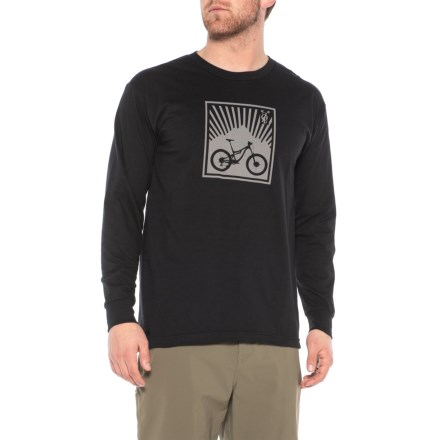 ZOIC Cycle T-Shirt - Long Sleeve (For Men) in Black - Closeouts