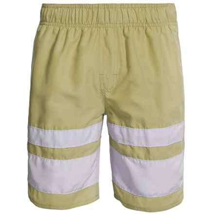 Zonal Swim Trunks - Built-In Shorts (For Men) in Hemp - Closeouts