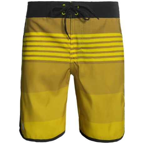 Zonal Swim Trunks (For Men) in Cyber Yellow