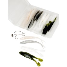 Zoom Super Fluke and Horny Toad Soft Bait Kit in See Photo - Closeouts