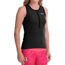 Zoot Sports Active Tri Mesh Tank Top (For Women) in Black - Closeouts
