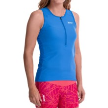 Zoot Sports Active Tri Mesh Tank Top (For Women) in Maliblue - Closeouts