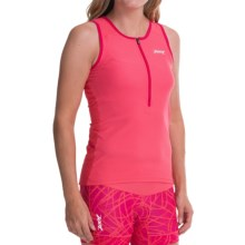 Zoot Sports Active Tri Mesh Tank Top (For Women) in Pink Grapefruit - Closeouts