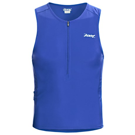 Zoot Sports Active Tri Tank Top (For Men) in Zoot Blue
