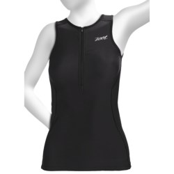Zoot Sports Active Tri Tank Top - UPF 50+ (For Women) in Poppy/Dawn/Pink