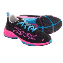 Zoot Sports Banyan Running Shoes (For Women) in Black/Pink Glow/Atomic Blue - Closeouts