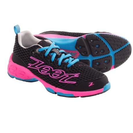Zoot Sports Banyan Running Shoes (For Women) in Black/Pink Glow/Atomic