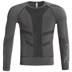 Zoot Sports CompressRx Recovery Top - Long Sleeve (For Men and Women) in Charcoal