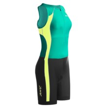 Zoot Sports Endurance Tri Race Suit (For Women) in Tropic Green/Lantern - Closeouts
