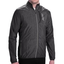 Zoot Sports Etherwind Jacket - UPF 50+ (For Men) in Black Heather - Closeouts