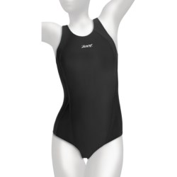 Zoot Sports Fastlane One-Piece Swimsuit - UPF 50+ (For Women) in Oceanus/Aqua