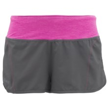 Zoot Sports High-Performance Run Swift Shorts - UPF 50+ (For Women) in Graphite/Pink Glow - Closeouts