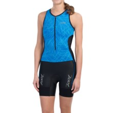 Zoot Sports High-Performance Tri Racesuit (For Women) in Maliblue Static - Closeouts